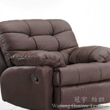 Gamuza 100% poliéster tela para fundas de sofá
