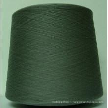 Hb182 recyclé Open End Ne 6/1 polyester fils de coton