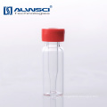 11mm Clear glass hplc lab autosampler snap high recovery vials with micro insert