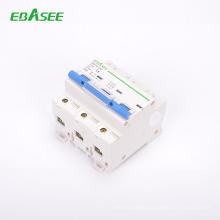 IEC Standard 3P Curve B factory price single phase circuit breaker