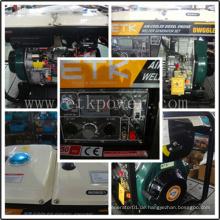 Tragbares Industrie-Diesel-Schweißer-Generator-Set