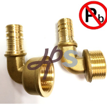 lead free brass pex female fitting for PEX pipe