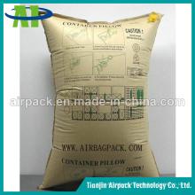 Evite los daños de carga de transporte Bolsa de aire inflable de estiba de válvula