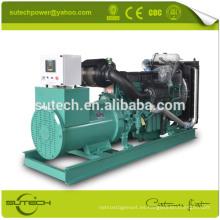 Generador eléctrico 400KW / 500KVA accionado por el motor VOLVO TAD1345GE