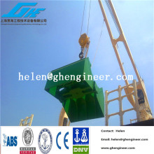 Electro-Hydrolic Clamshell Grab para mineral de hierro