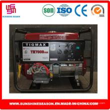 Tigmax Th7000dxe (VISAGE ELEMAX) essence générateurs 5kw pour alimentation