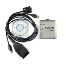 Средство диагностики OBDII Elm327 USB сканер металлический ящик V1.5