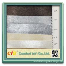 Mode de nouvelles conceptions en gros PVC pvc cuir Cuir pvc pour la décoration fabrique le cuir