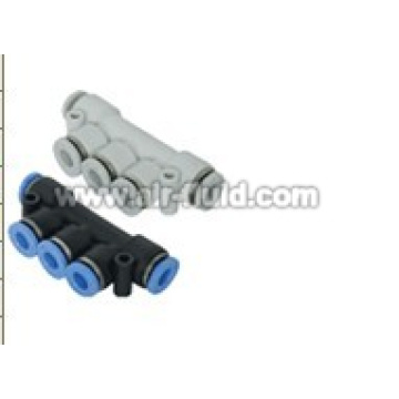 APKG Union Triple Branch Pneumatic Air Fittings