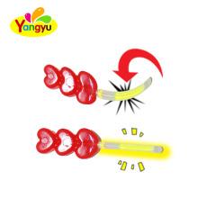 Glowing stick Heart to Heart Fruits Lollipop Candy