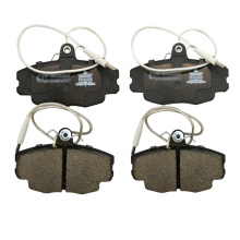 ECE R90 E Mark certification front brake pad factory with weight