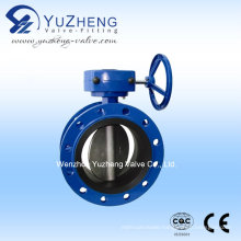 Flange End Butterfly Valve with Worm Gear