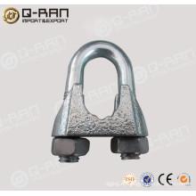 Clip/Aparejo de galvanizado cuerda de alambre DIN741 cable Clip