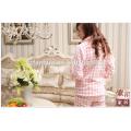 Senhoras térmicas pijamas fantasia pijamas de flanela vermelha de mulher