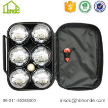 Petanque Boules Metal 6 Bocce Balls