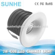 3W COB кабинет пятно света 350mA COB мини светодиодный кабинет свет круглый Дунгуань