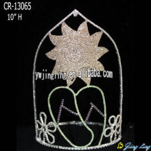 Holiday Pageant Custom Sunflower And Slipper Crown