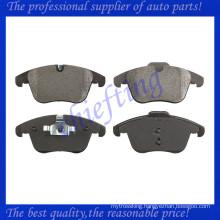 FDB4107 FSL4107 C2C39929 C2C27290 C2C39929 MDB2944 0986494209 for jaguar xf xj xk brake pad