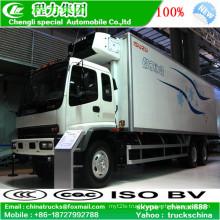 Left Hand Drive Isuzu Ftr 15tons Freezing Truck
