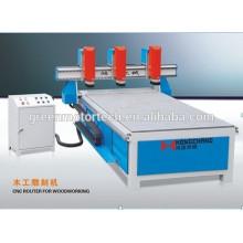 Chine jinan professionnel fabrication de haute qualité avec CE XJ1325 meubles 3d cnc routeur