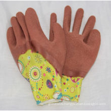 13G Polyster Liner Latex Coated Printing Glove