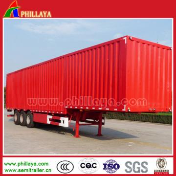 Зерна прицеп для грузовые перевозки полуприцепа