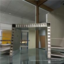 Панели с двухсторонней изогнутой алюминиевой панелью