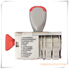 Date and Text Roller Stamp for Promotional Gifts (OI36014)
