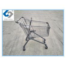 Powder Coating Metal Shopping Trolley