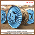 Electrical corrugated wire spool manufacturing