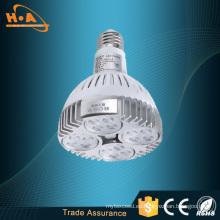 No Flckering PAR30 LED lámpara de luz de la lámpara taza
