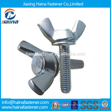 In Stock Chinese Supplier Best Price DIN316 Stainless Steel wing scrow bolt with nut