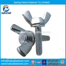 В запасе Китайский производитель Лучшая цена DIN316 Нержавеющая сталь крыло зажимной болт с гайкой