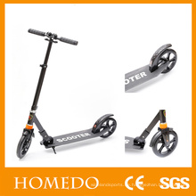 Erwachsene Kick Push Scooter Handbremse Folds Down Handle Roller