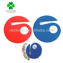 Plastik-Brieföffner mit Lupe-Funktion