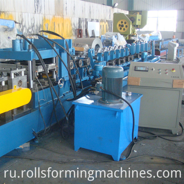 C Z Section Steel Purlin Machine