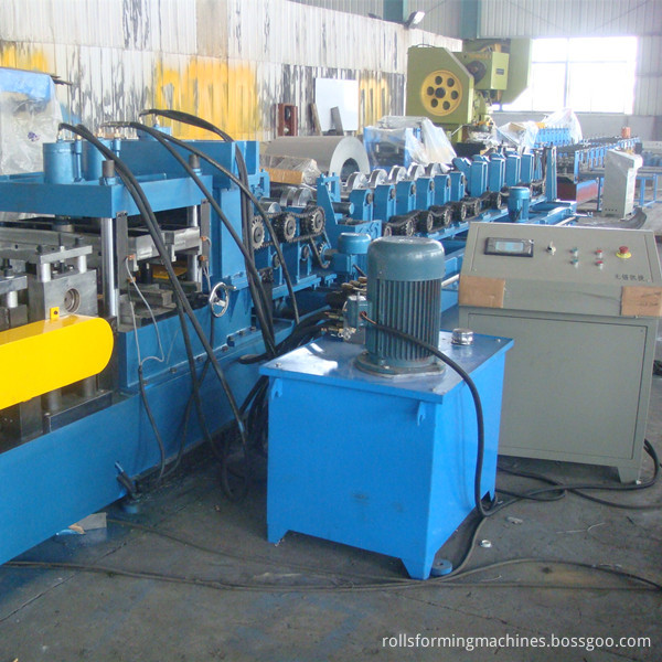 Hot Aale Pre-Engineered H Beams Z Beams C Purline Machine