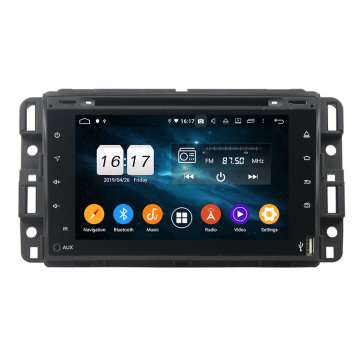 GMC 2007-2012 tela de toque do carro dvd player