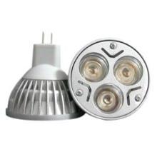 Melhor Preço 3 * 1W MR16 LED Spot Light