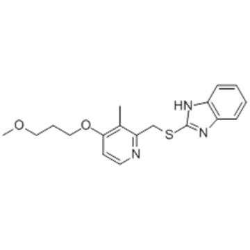 1H-Benzimidazole,2-[[[4-(3-methoxypropoxy)-3-methyl-2-pyridinyl]methyl]thio]- CAS 117977-21-6?