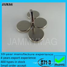Poderosos materiais magnéticos fortes