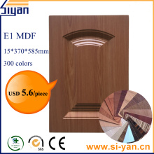 Pvc pressed replacement kitchen cupboard doors