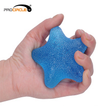 Venta al por mayor Finger Exercise Gel Jelly Hand Grip Ball