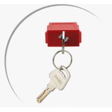 Cadenas de sécurité de système de clé standard de manille d'acier de 38mm