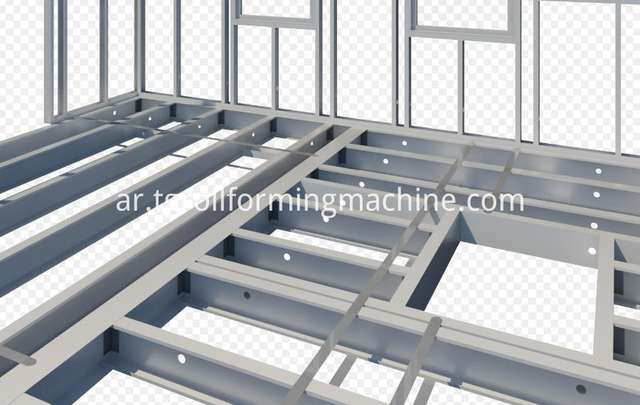 Metal C Stud And Track Roll Forming Machine