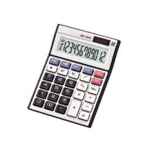 12 digits big display transparent calculator