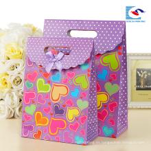 Bolsas de papel reciclables impresión personalizada con logotipo propio para los amantes