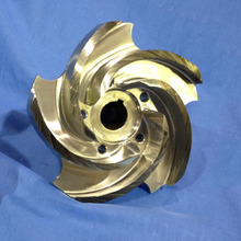 Custom Brass Impeller Fan för Marine