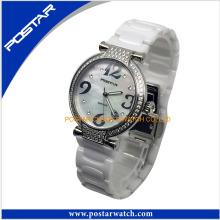 Hochwertige keramische Damen Quarzuhr Armbanduhr