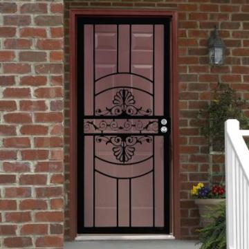 Black Venus Security Wooden Door